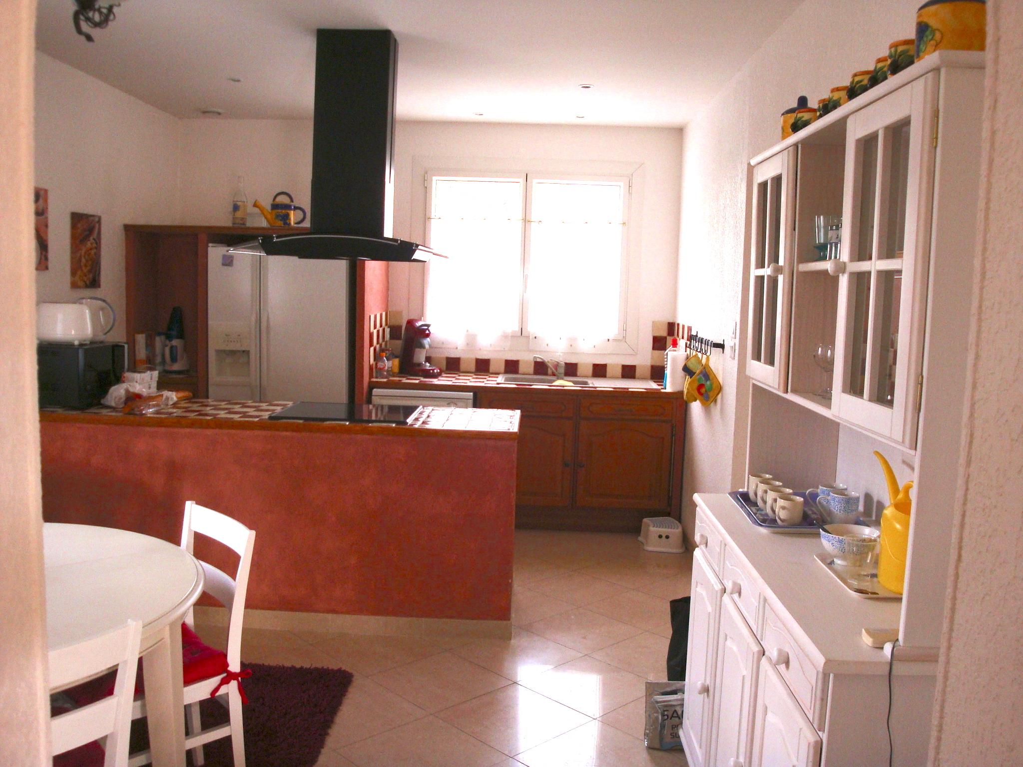 Gezellige open keuken